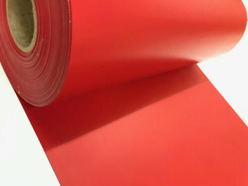 Rot ca.700g//m² LKW-Plane Gewebeplane: 0,30m breit Top Qualität