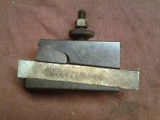 Aloris Cxa 7 Cut Off Toolholder Amp Mo Max 34 Hs Blade Cxa 7