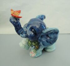 New in Box * Old Tupton Ware Elephant Sitting Flower Garden Figurine