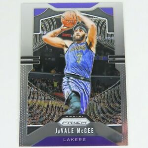 JaVale-McGee-Panini-Prizm-2019-2020-225-LA-Lakers-NBA-Basketball-Sports-Card