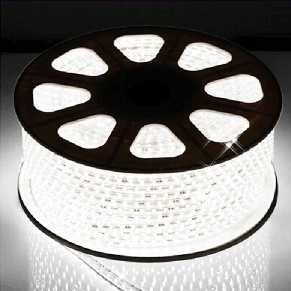 Al por mayor 1M - 100M 3014 tira de LED 120 Leds m Flex De Luz blancoa Fría 110V 220V