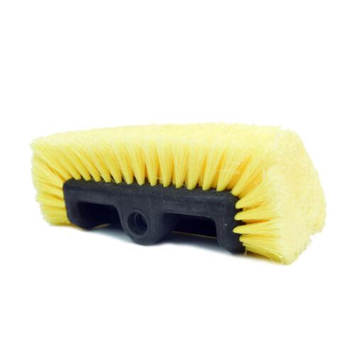 "Carcarez Car Truck Boat RV 10/"" Heavy-Duty Tri-Angle Wash Brush Head Soft Brush"
