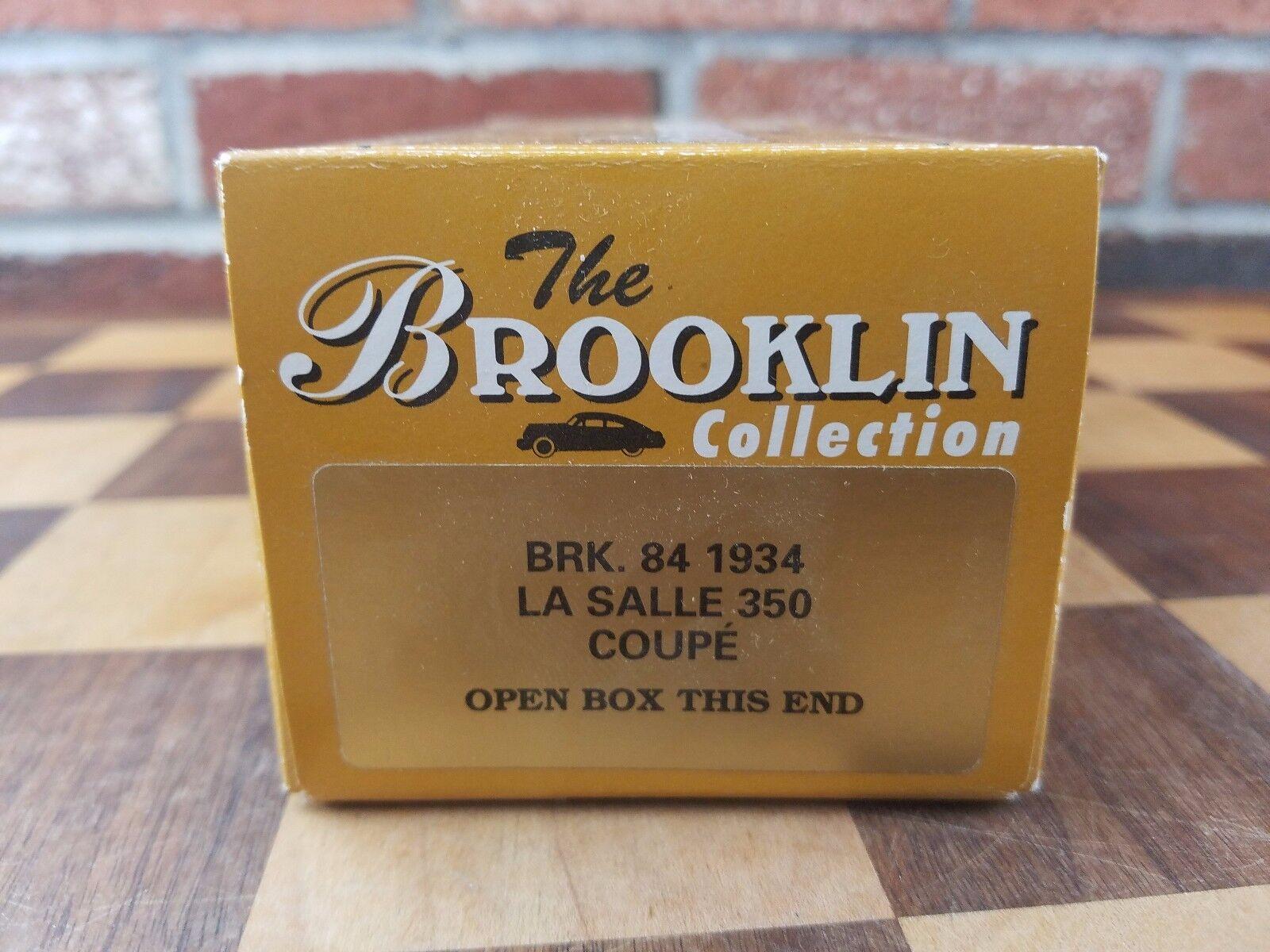 Brooklin maßstab 1  43 brk84 - 1934 la salle 350 coupé, dunkelblau, neue