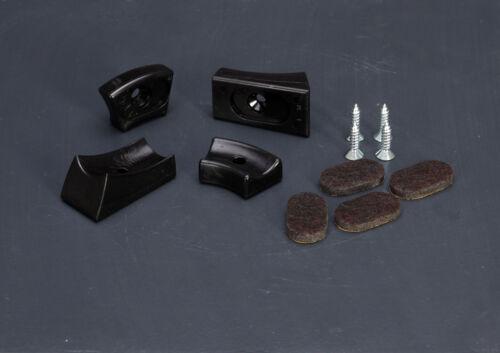 passend für Thonet Stahlrohr Freischwinger Filzgleiter Set