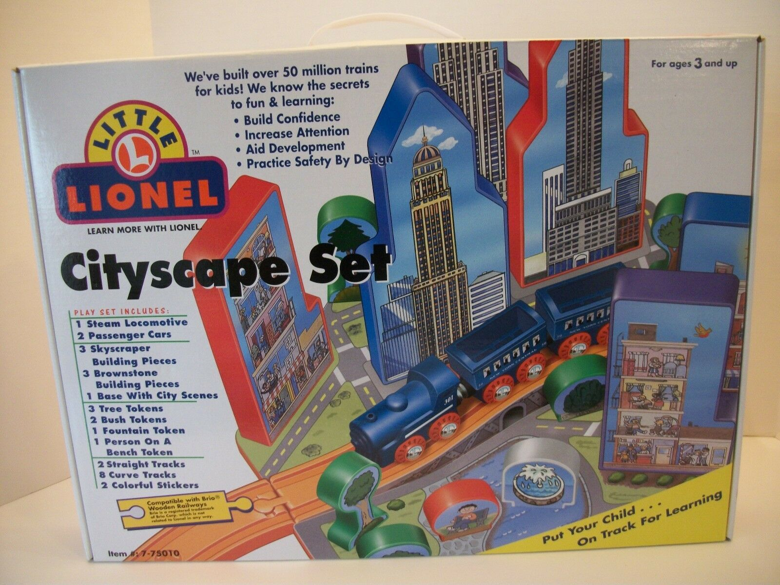 Preschool Toys kids Train set Little Lionel Cityscape Cityscape Cityscape set compatable with brio 31e518