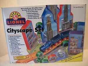 Preschool Toys Kids Train Set Little Lionel Cityscape Set