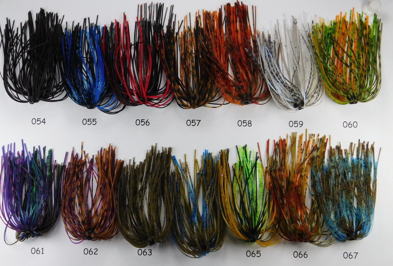 Scorpion Hole In One Jig Skirt 14 Various Skirt colors to choose From