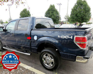 For 2009-2014 Ford F150 Truck Models self-adhesive Gas Door Cover