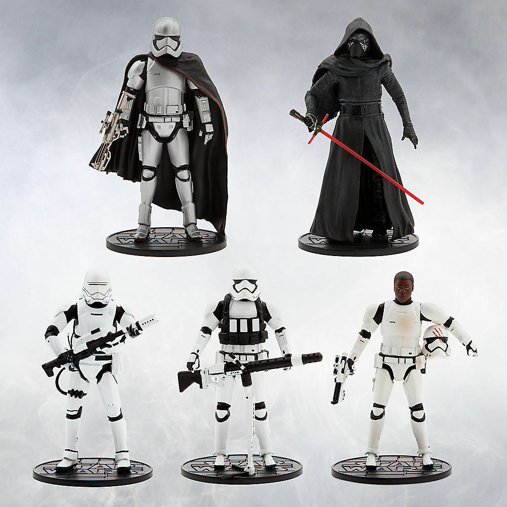 STAR Wars la forza si sveglia Elite Series DIE CAST 6  Set Regalo Deluxe