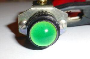 Voyant-a-cabochon-vert-en-verre-12-16-volts-Ba9s-reglable-US-modele-ES101-NOS