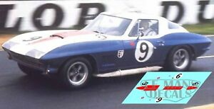 Calcas-Chevrolet-Corvette-C2-Le-Mans-1967-1-32-1-43-1-24-1-18-64-87-decals
