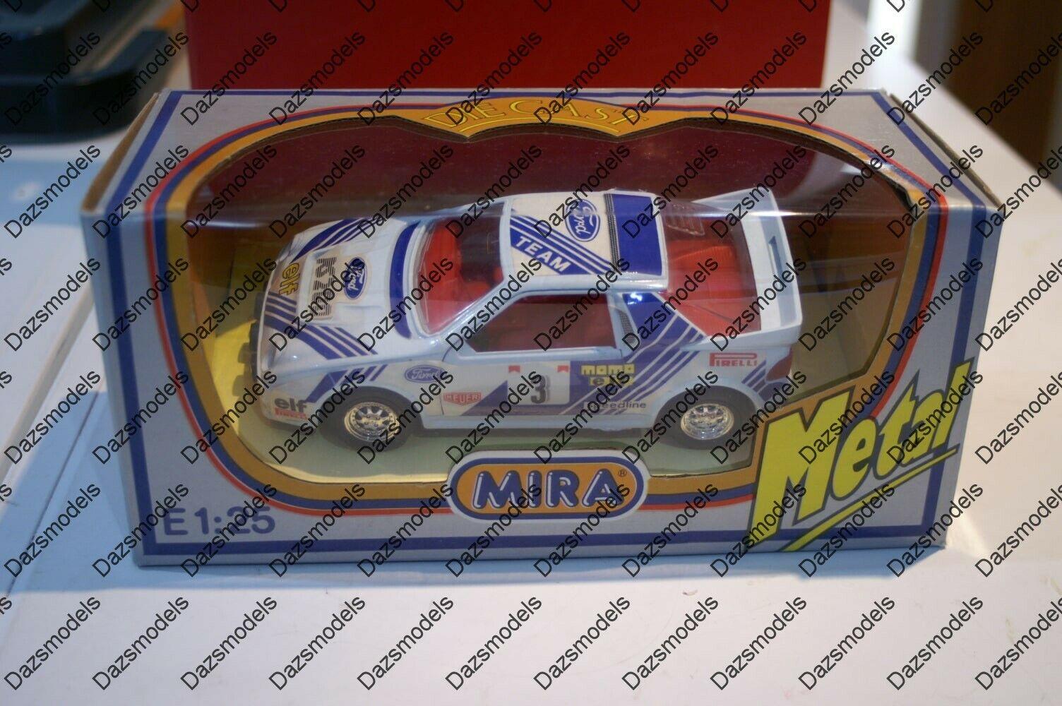 Mira escala 1 24 Ford RS200 ref 1509 En Caja
