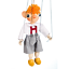 SPEJBL 3 wooden marionettes handmade from CZECH REPUBLIC MANICKA HURVINEK