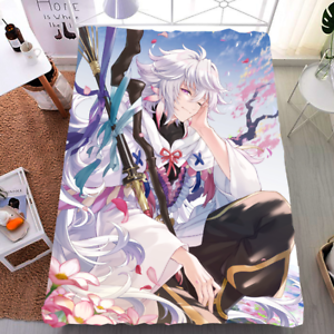 Anime Fate Grand Order Bedding Double-bed Blanket Bed Sheets Gift 150×200cm #T54