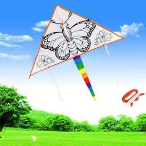 Kinder-Drachen-Kinder-DIY-Malerei-Drachen-Outdoor-Sport-B4W9-Drac-Spielzeug-W0Y1