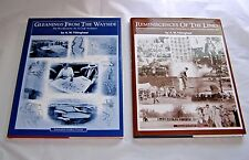 Lot of 2 Golf History and Golf Architecture A.W. Tillinghast Photos & Illustr.
