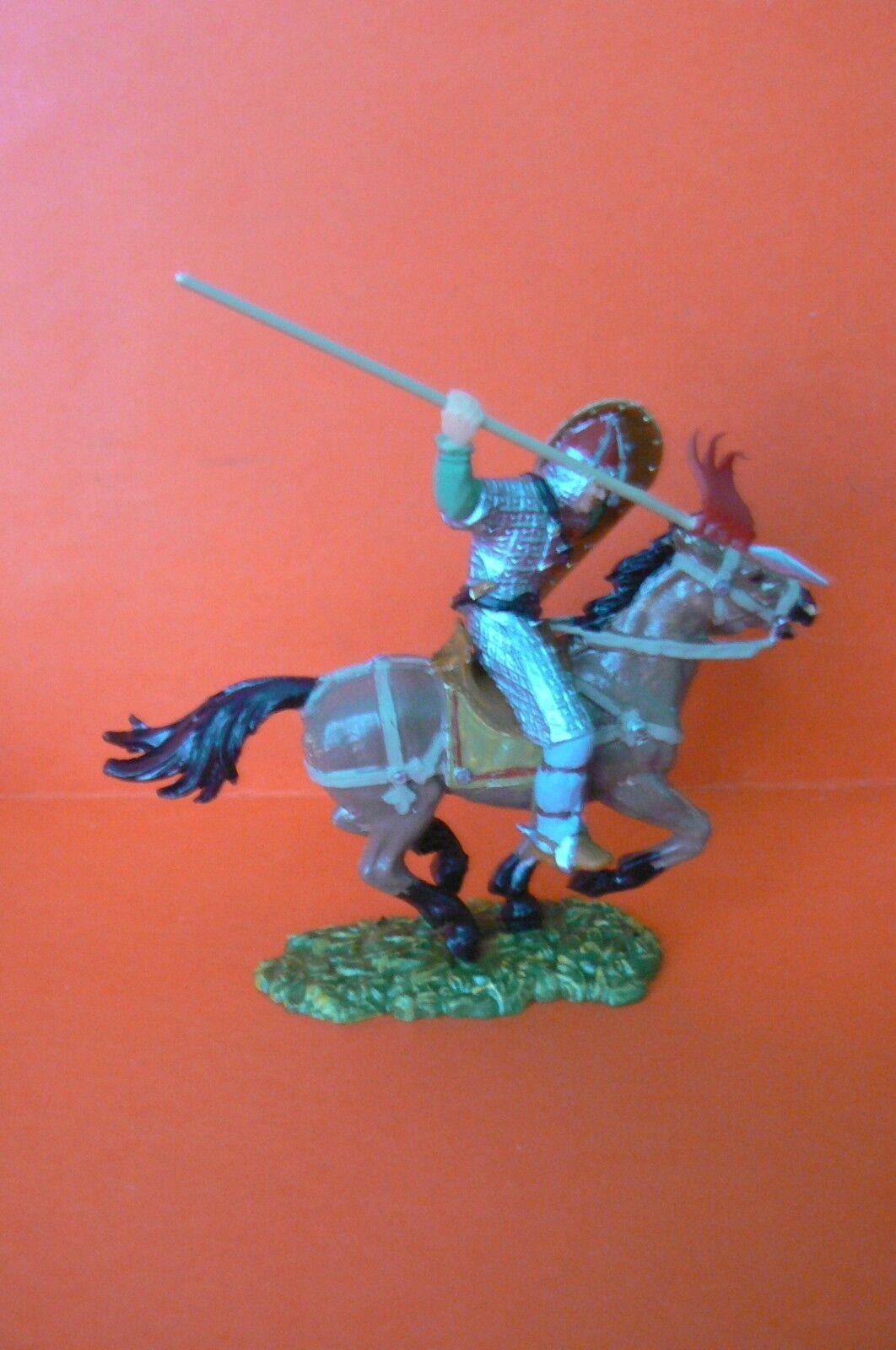 Elastolin   Medio Age Molto Bello Cavaliere a Cavallo