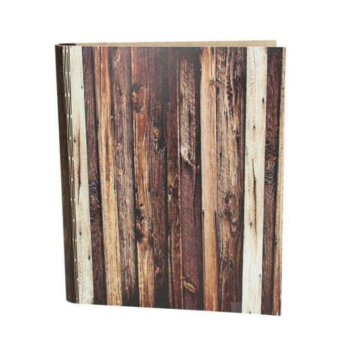 Edel Holz Speisekarte Leder A4 Weinkarte Getränkekarte Menükarte Restaurant
