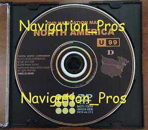 Image Is Loading Latest Toyota 2018 Navigation Map Update Dvd Gen