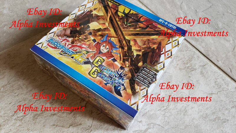 ENGLISH S-CBT01 Buddyfight golden Garga Climax Vol. 1 English Booster Box ACE