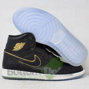 Details about Air Jordan 555088 031 Men's 1 Retro High OG Basketball Shoes BlackGold