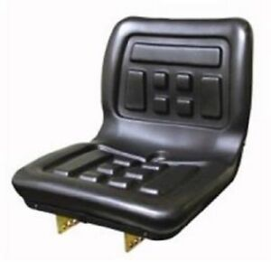 Universal Tractor Seat fits many compact tractors, Yanmar, Kubota, Deere, Ford