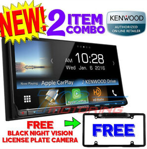 Details about NEW KENWOOD DMX7704S APPLE CAR PLAY / ANDROID AUTO SPOTIFY +  FREE BLACK CAMERA
