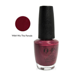 OPI Nail Polish W64 We The Female 0.5oz 94100005485 | eBay