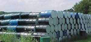 Lot-300-steel-sealed-closed-top-metal-55-gallon-food-grade-barrels-barrel-drums