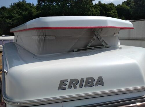 Eriba Caravan Pop Sello Superior Negro