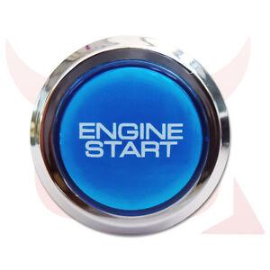 car engine push start starter button for all cars 2005 onwards 12v illuminated ebay. Black Bedroom Furniture Sets. Home Design Ideas
