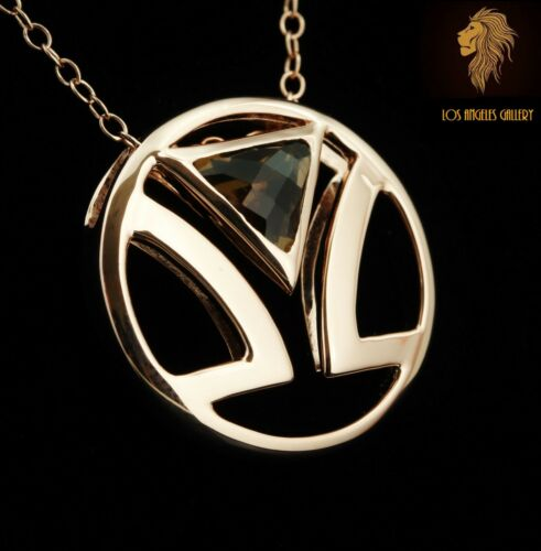 Limited Edition and availability Levian Logo Chocolate Topaz necklace NEW