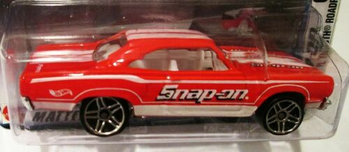 HOT WHEELS SNAP ON TOOLS PLYMOUTH ROAD RUNNER 6//6 ~ DAMAGED CARD AND BLISTER