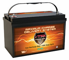 Slr125 Agm Deep Cycle 12v 125ah Solar Emergency Power Backup Generator Battery