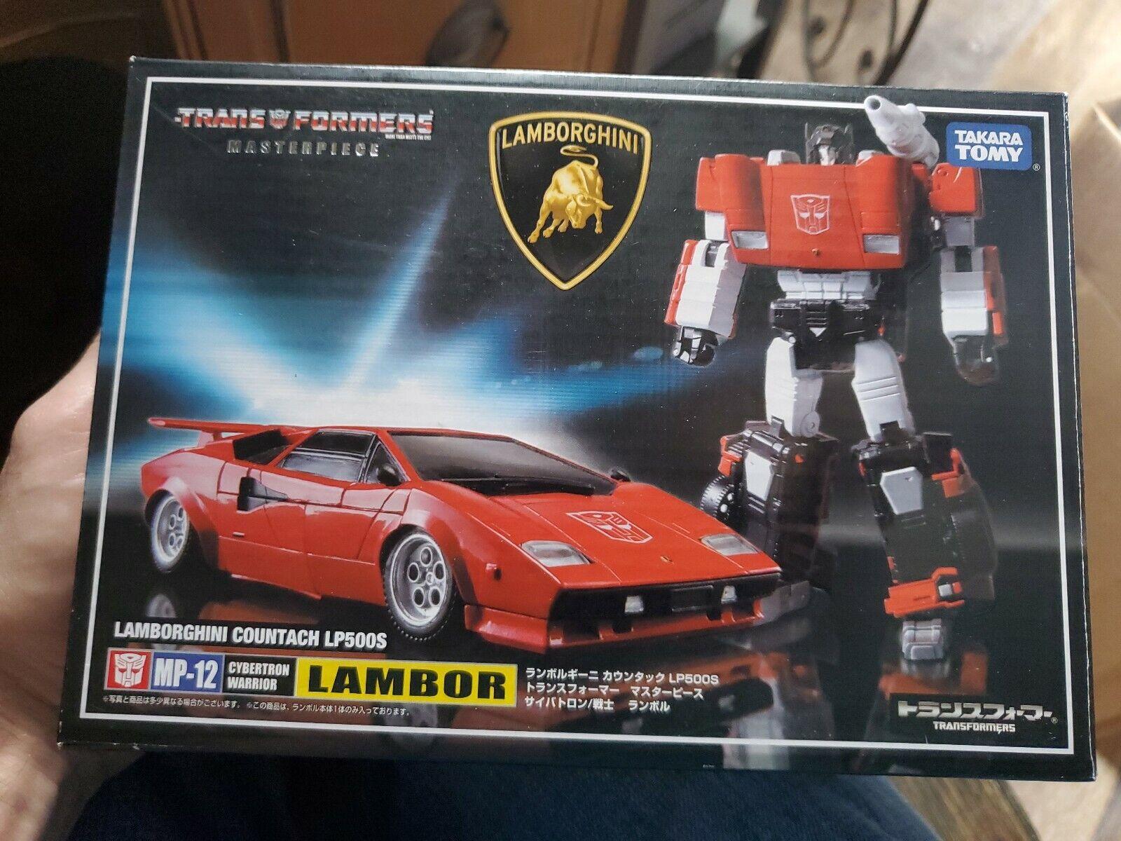 Takara Transformers Masterpiece  MP-12 Lambor Figura De Acción