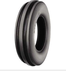 TWO-500X15-500-15-5-00X15-5-00-15-TRI-RIB-3-Rib-Tractor-Tires
