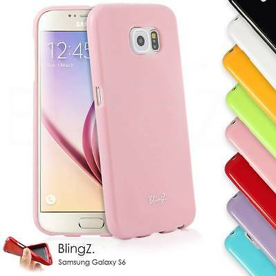 Colorful Silicone Slim Thin Gel TPU Rubber Case Cover for Samsung Galaxy S6
