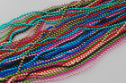 Wholesale Lots 20Chains Mix Colour Metal 2mm Ball Bead Necklace Findings 27