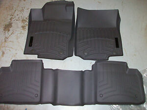 Oem Genuine Mercedes Benz Mocha Brown All Season Floor Mat