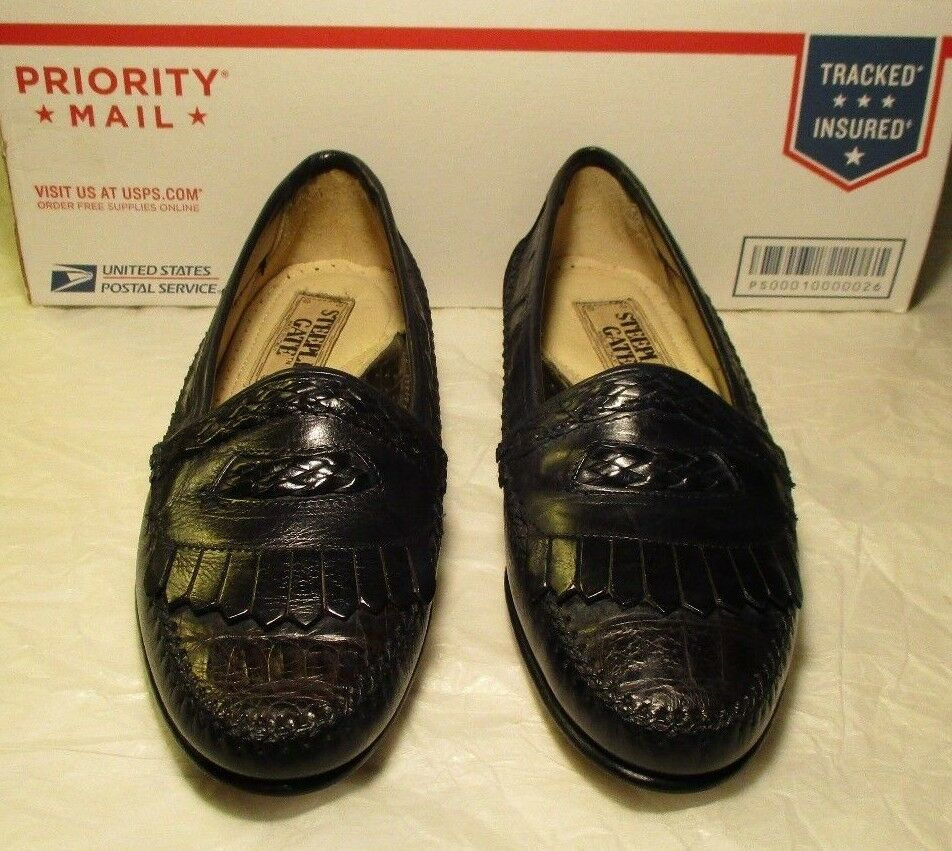 New Steeple Gate loafer 7 D navy #17