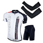 New Bike Clothing Men's Short Sleeve Jersey Padded Bike Shorts MTB Cycle Sets