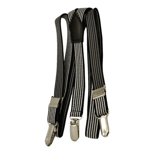 Boys Girls Kids Juniors Suspenders Fancy Dress Braces Fashion Adjustable Y-Shape
