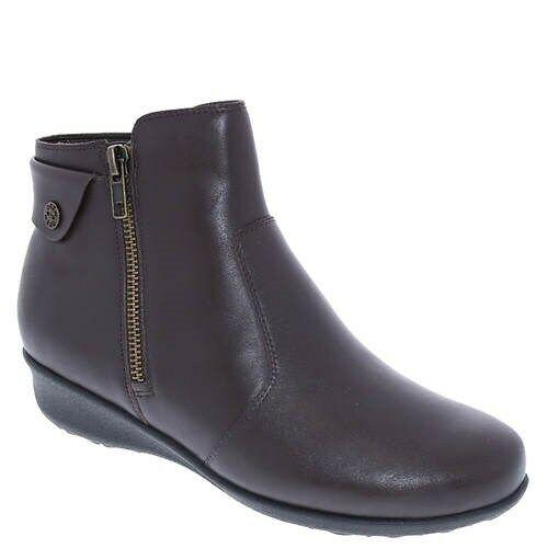 Drew para mujeres ATENAS botín ortopédico de 8.5W de ancho 8 1 2 Zapato De Trabajo Marrón NUEVO
