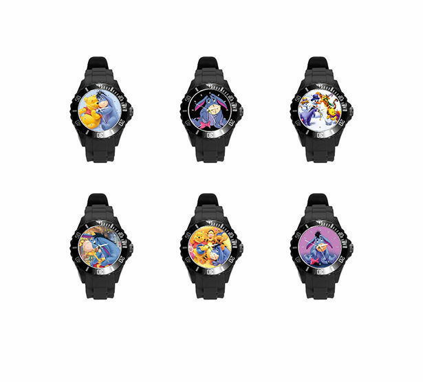 eeyore So many Color and styles Soft Plastic Rubber Wrist Watch