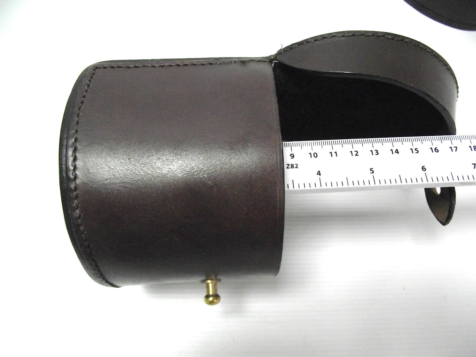 Echtleder Angelrollen-Behälter Geringe Größe, Option Option Option zu Personalisieren d9079d