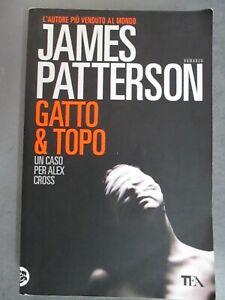 JAMES PATTERSON - GATTO & TOPO - TEA  2012