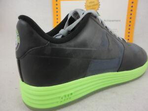 meet e5c1c 33836 Image is loading Nike-Lunar-Force-1-Fuse-Leather-Black-Grey-