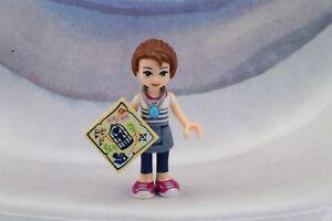 LEGO New Elves Friends Emily Jones Minifigure with Amulet Necklace