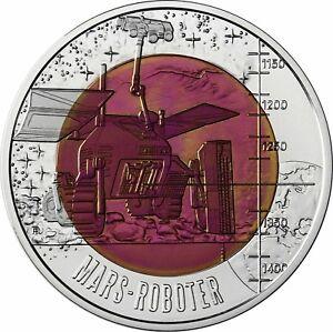 österreich 25 Euro 2011 Robotik Mars Roboter Niob Gedenkmünze Im