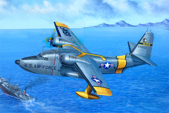 02821 1 48 Model Trumpeter HU-16A Albatross Plane Aircraft Kit Plastic Fighter